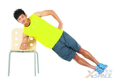 人鱼线锻炼方法图解 随时随地都能健身