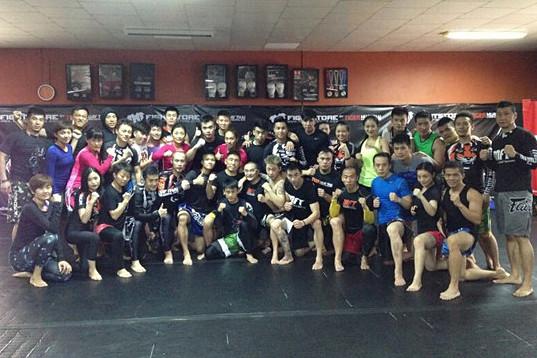 泰拳健身训练营