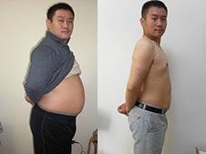 24岁小伙慢跑减肥 2个月减掉25斤