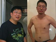 200斤胖子踩坏跑步机 减肥成功回家老爹没有认出来