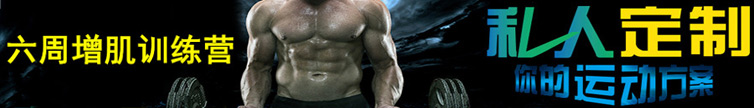 六周增肌训练营 肌肉型男批量生产线
