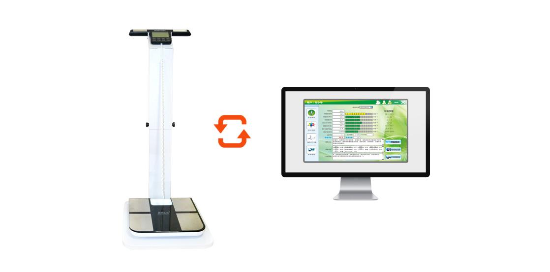 jesloo体测仪与电脑连接