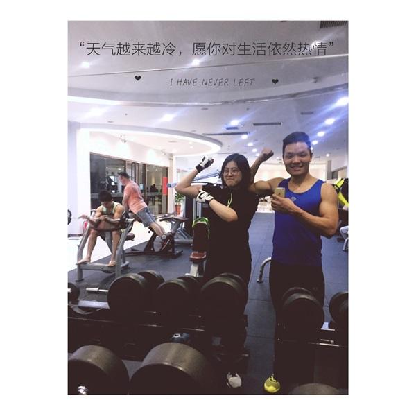 杨兆帆教练:为了你我愿意教整个世界健身