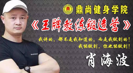 鼎尚健身学院-王牌教练锻造营-肖海波