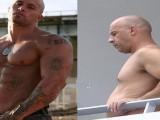 肌肉男吃1个月、3个月快餐发福有多快?网友:保持腹肌真的太难了