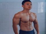上海体育学院肌肉学霸,用21岁芳华,打造出黄金比例好身材